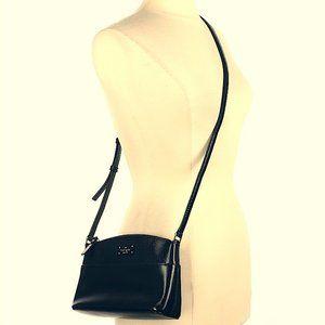 NWOT Kate Spade Black Purse leather CrossBody Bag